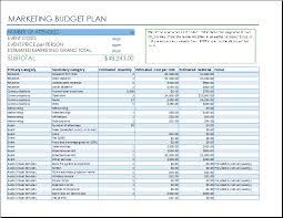 Budget Plan Sample Business Marketing Event Budget Template Budget Planning Worksheet