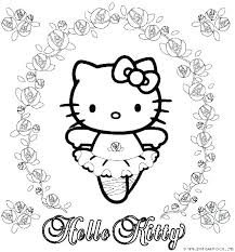 Hello Kitty Colouring Sheets Printable Cat Coloring Es Hello Kitty