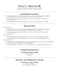 Relevant Skills Resume Best Ideas Resume Skills And Abilities