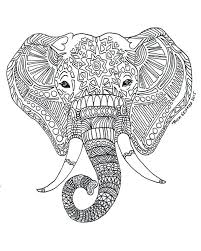 Elephant Printable Colouring Pages Collection Of Herd Of Elephants