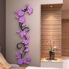 Small Picture Buy Generic Colorful 3D Flower Removable Vinyl Quote Wall Sticker