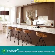 Linkok Furniture China Made Wholesale Price Solid Wood Kitchen