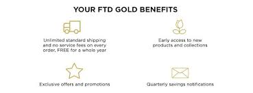Ftd Gold And Ftd Gold Membership In 2019 Gold Downers Grove