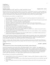 Oracle Dba Cv Oracle Dba Resume Sample Oracle Resume Examples Resumes Server