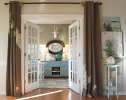 Patio Door Curtain at Home and Interior Design Ideas