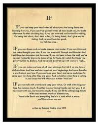 if by rudyard kipling quips quotes sagacity   framed if poem by rudyard kipling author the jungle book 9x11 wood art