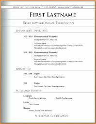Biodata Format In Word Free Download Sample Resume Format Download