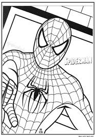 Small Picture Spiderman coloring pages hero printable