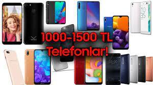 1000-1500 TL Arasında Alınabilecek Akıllı Telefonlar! (Haziran 2020) -  YouTube