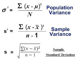 Variance Formula Sample Variance Statistical Guess Medium