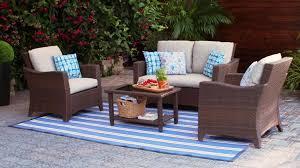 photo 5 of 6 canadian tire outdoor patio furniture 5 canvas portland conversation set