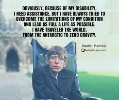 Disability Quotes Awesome 48 Most Popular Stephen Hawking Quotes SayingImages