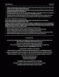 Executive Summary Resume Example Luxury Sample Resume Marketing