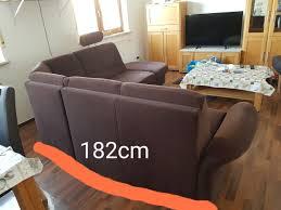 Couchwohnlandschaftsofa Microfaser Braun In 35794