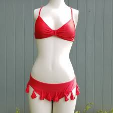 Luli Fama Size Chart Luli Fama Cuba Libre Tassel Bikini 2 Piece Swim