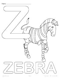 Animal Alphabet Coloring Pages On Alphabet Coloring Pages Animal