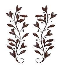 metal leaf wall art roselawnlutheran