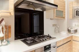 bathroom and kitchen auctions melbourne. toughened 90cm x 75cm black glass kitchen splashback bathroom and auctions melbourne m