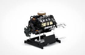 Engine Display Stand Unique 32 Cylinder Engine