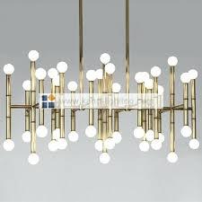 meurice rectangular chandelier jonathan adler designed by