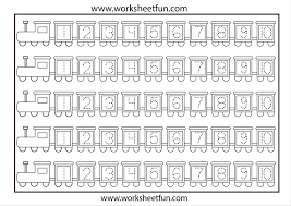 Free Number Tracing Worksheets 1 10 Kindergart ~ Koogra