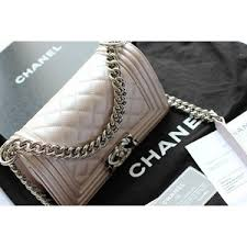 BOY CHANEL METALIC QUILTED FLAP BAG WITH CHAIN SHOULER STRAP ... & BOY CHANEL METALIC QUILTED FLAP BAG WITH CHAIN SHOULER STRAP CHANEL  HANDBAGS PURSES Adamdwight.com