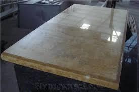 yellow marble countertops