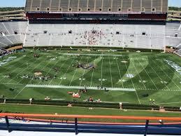 Jordan Hare Stadium Section 107 Row 5 Seat 7 Auburn