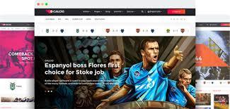 joomla football template. JoomShaper Calcio v10 Joomla Template for Soccer News