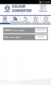 Hempel Colour Converter 1 4 2 Free Download