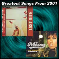 Rock Charts 2001 100 Greatest Songs From 2001