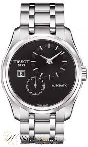 tissot couturier t035 428 11 051 00 men s stainless steel tissot couturier automatic men s watch stainless steel black dial t035 428 11