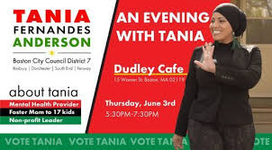An Evening with Tania, Dudley Cafe, Roxbury, June 3 2021 ...