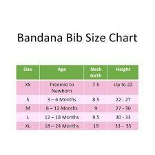 Bandana Bib Sewing Pattern Sizes Premie To 24 Months