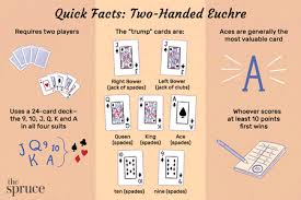 two handed euchre rules