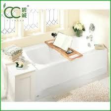 hot modern design bamboo bath tub bathtub tray caddy with extending sides bamboo bath a tray