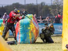 national x ball league s paintball tournament back at gaelic park
