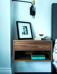 floating nightstand ikea wall mounted