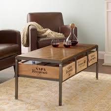 vintage coffee table preparing zoom