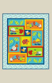 On the Farm - by Kids Quilts - Patchwork & Quilting Pattern - cot ... & Bugs-a-lot - by Kids Quilts - Patchwork & Quilting Cot Pattern Adamdwight.com