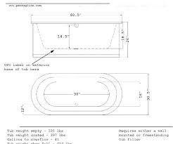 freestanding tub dimensions bathtub dimensions standard bathtub dimensions inches standard bathtub dimensions standard tub height medium