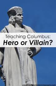 best activities for columbus day images  teaching christopher columbus hero or villain
