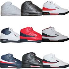 fila basketball shoes 2015. mens fila f13 f-13 classic mid high top basketball shoes sneakers white black # 2015