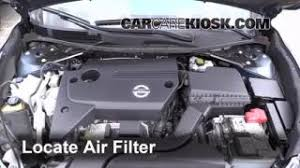 air filter how to nissan altima nissan altima s 2013 2015 nissan altima engine air filter check