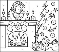 Home » christmas printable » colour by number printables for christmas. Christmas Coloring Pages