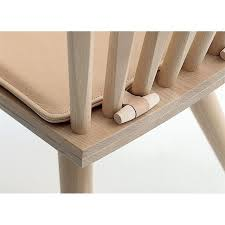 fabulous way to keep cushions on chairs without all those ugly strings from the ties hanging