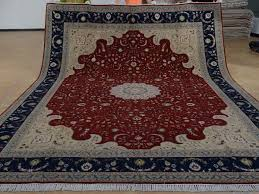 9 x 12 hand knotted brand new wool and silk sino persian tabriz oriental area rug 12980641 goodluck rugs