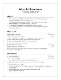 Free Modern Downloadable Resume Templates Open Office Resume Templates Free Download 8 Free Openoffice Resume
