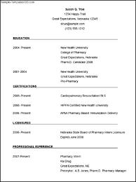 pharmacist cv template sample templates pharmacist cv template