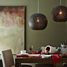 Image Homemade View In Gallery West Elm Globe Pendant Original Decoist 50 Coolest Diy Pendant Lights